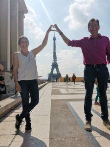 Astrid et JC Crespel - Paris
