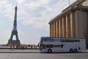 Odyssébus Lancement Tour Eiffel
